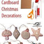 Christmas Cardboard Decorations