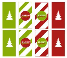 free christmas printable candy bar wrapper