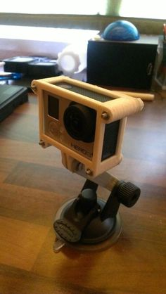 GoPro Hero3/Hero3+ Case by AlCampCW http://thingiverse.com/thing:463916