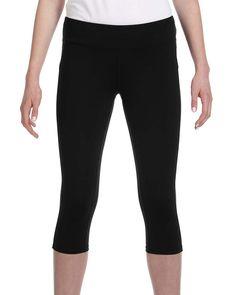 ALL SPORT W5009 Women's Capri Legging