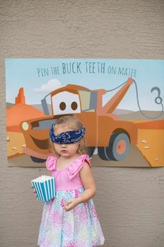 Lightning McQueen from the Movie Cars and Radiator Springs Cars Birthday Party Ideas | Photo 34 of 43 | Catch My Party
