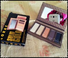 Lorac Solid Gold eyeshadow palette review , swatches , tutorial and look
