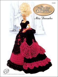 Barbie Crochet: Centennial Miss December 1993  $3.95 on e-PatternsCentral
