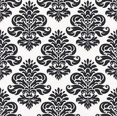 zwart wit barok behang rasch 266917 Alexander Mcqueen Scarf, Design, Random, Paper, Casual