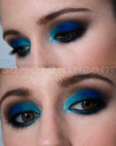LOOK : Chaotic Blue