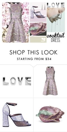 """""""Lilac and silver"""" by dorinela-hamamci ❤ liked on Polyvore featuring Jane Norman, Marni, Judith Leiber, cocktaildress, polyvoreeditorial and polyvorecontest"""