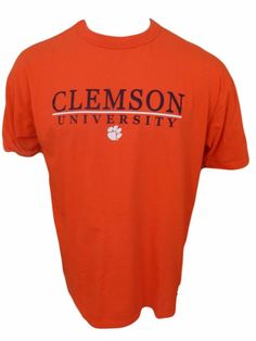 1d240817 Clemson University Shirt Size L. Russell AthleticClemsonGraphic TeesGraphic  T Shirts