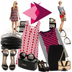 Which Way Are U, created by mellr on Polyvore