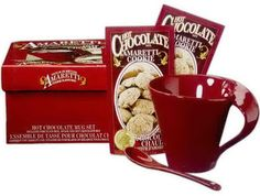 Ensemble tasse/chocolat chaud biscuit Amaretti $15    14,99 $