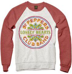 SGT. PEPPER RAGLAN SWEATSHIRT [5974] - $55.00 : Beatles Gifts, The Fest for Beatles Fans