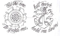 Be the one to guide me, but never hold me down.  I'm in love with this!