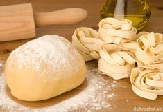 Photo about Dough for fresh pasta and rolling pin on wooden table. Image of flour, ingredients, table - 12595088 Rolling Pin, Rolling Table, Fresh Pasta, Rolls, Bread, Homemade, Classroom Newsletter, Recipes, Newsletter Templates