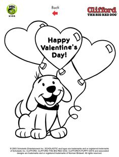 clifford printables puppy coloring pages pbs kids - Clifford Printable Coloring Pages