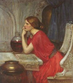 View Circe by John William Waterhouse on artnet. Browse upcoming and past auction lots by John William Waterhouse. John William Waterhouse, Pre Raphaelite Paintings, Dante Gabriel Rossetti, John Everett Millais, Victorian Art, Oeuvre D'art, Find Art, Les Oeuvres, Mythology
