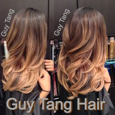 Guy Tang - Ombré on Asian hair by Guy Tang - West Hollywood, CA, United States