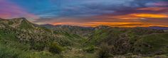A Panoramic Sunrise at Haskell Canyon by  Turner on 500px