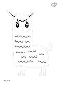 Uzupełnianka Lama #naukarysowania #dladzieci #edusiaki #kolorowanki #krokpokroku #uzupelnianki #lamiglowki Snoopy, Kids Rugs, Free, Fictional Characters, Decor, Decoration, Kid Friendly Rugs, Fantasy Characters, Decorating