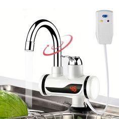 Elektrische Durchlauferhitzer Wasserhahn Instant Warmwasserhahn Heizung Kalte Heizung Wasserhahn Tankless Durchlauferhitzer Küche