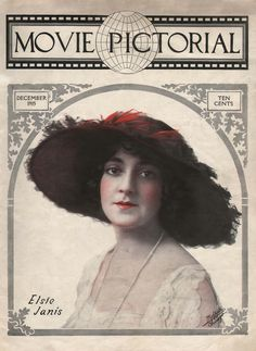 Movie Pictorial Magazine - December 1915 (Elsie Janis)