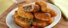 Receita de bolinho de batata com carne moída perfeito | Show de Receitas