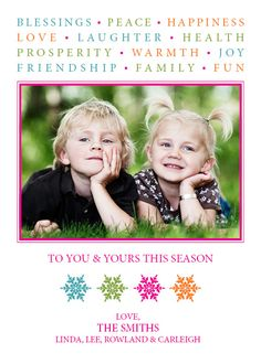 Miss sending Christmas Cards??? New Years Card!