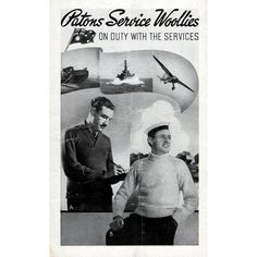 1940s WWII Vintage Knitting Patterns for Men Historic Patons Book 153 Knits for Soldiers Armed Forces Service Woollies Hospital Garments