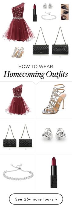 """""""Prom collection/2"""" by imsmigs on Polyvore featuring Sergio Rossi, NARS Cosmetics and Georgini"""