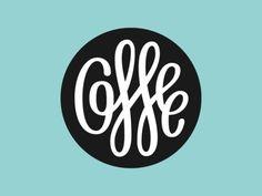 Coffee Badge - Beautiful Circular Coffee Badge Logo Design