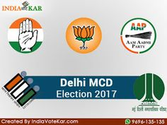 Delhi MCD Election is going to be held on 23 April. All the parties have been released their candidates' list for MCD Election. The BJP, AAP and congress are ready to win the crown of DELHI MCD ELECTION 2017. The result will be announced on 26 April, 2017.