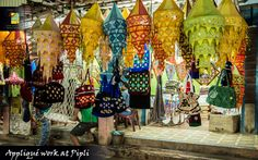 Famed for applique work, Pipli in Odisha opens its doors for tourists to observe the creative side of Oriya people.