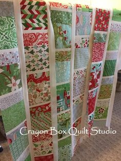 A new tutorial - create your own Jingle Wishes quilt