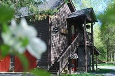 Butterfly cabin in the Springtime!
