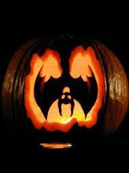 Image result for bat pumpkin carving stencil