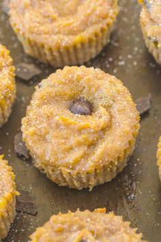Healthy 4 Ingredient Banana Bread Muffins (Paleo, Vegan, Gluten Free)- Four easy ingredients to moist, gooey, muffins which melt in your mouth!