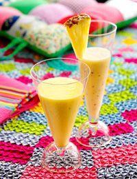 Smoothies - Mango/æble og Ananas/Banan/Kokos
