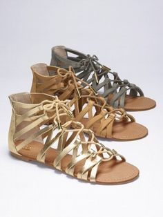 These gladiator sandals will change your life if you wear them. Sexy has spoken my chick a dees. Yummy.