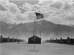 An exhibit at LA's Skirball Cultural Center features photos that three photographers — Dorothea Lange, Ansel Adams and Toyo Miyatake — took at the Manzanar internment camp.