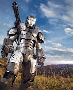 $4,000 Iron Man War Machine Costume
