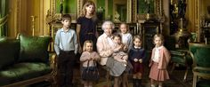Princess Charlotte and Prince George Join Queen Elizabeth in...: Princess Charlotte and Prince George Join… #PrinceGeorge #QueenElizabeth