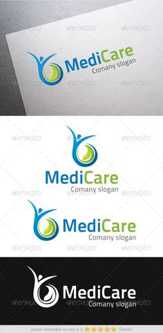 Medi Care  Logo Design Template Vector #logotype Download it here: http://graphicriver.net/item/medi-care-logo/5956468?s_rank=1218?ref=nexion