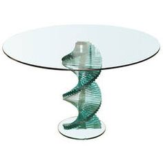 A Danny Lane-designed Glass Center Table