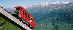 The Gelmerbahn funicular in Switzerland