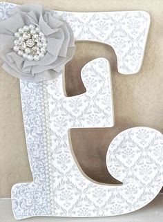 Custom Wooden Nursery Letters Baby Girl Nursery Decor