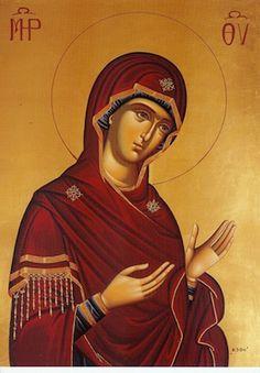 Theotokos Praying 1230