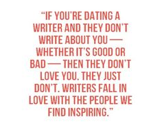 Dating They And Dont Youre You About If Writer A Write
