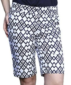 Look at this #zulilyfind! Night Diamond Ashley Bermuda Shorts by GGblue #zulilyfinds