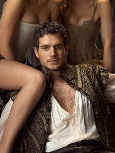 And here we have Henry Cavill as Charles Brandon (Henry VIII's best friend) yet again... because it really sums things up.  (oh my!!!!) He was an insanely sexy, super cocky womanizer. But once he matured he became a decent man. Most of his scenes left the viewer breathless... A must-see for any HC fan. Nude scenes... cute butt.