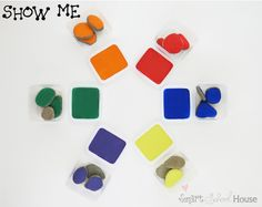 Show Me: The Hands-On Rock Game for Teaching Toddlers Colors