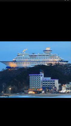 The Sun Cruise Resort in Gangneung,  SOUTH KOREA.