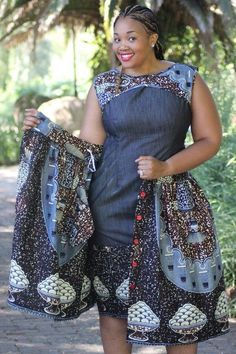 30 Latest Ankara and Jeans Combination - Izzyaccess African Inspired Fashion, African Print Fashion, Fashion Prints, African Prints, Ankara Styles For Men, Latest Ankara Styles, Ankara Gowns, Ankara Dress, Jeans Gown